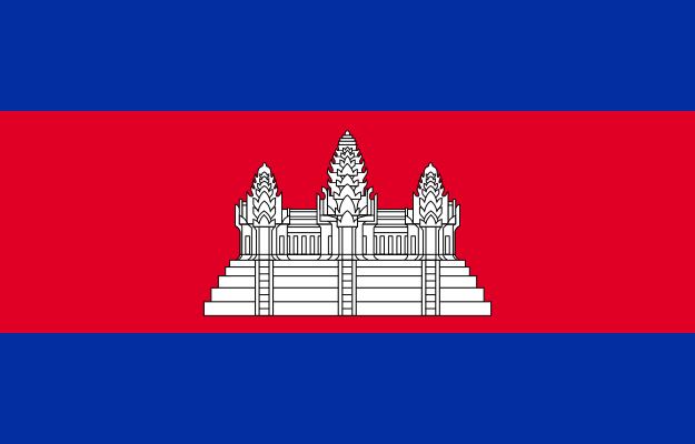 Kambodža vlajka
