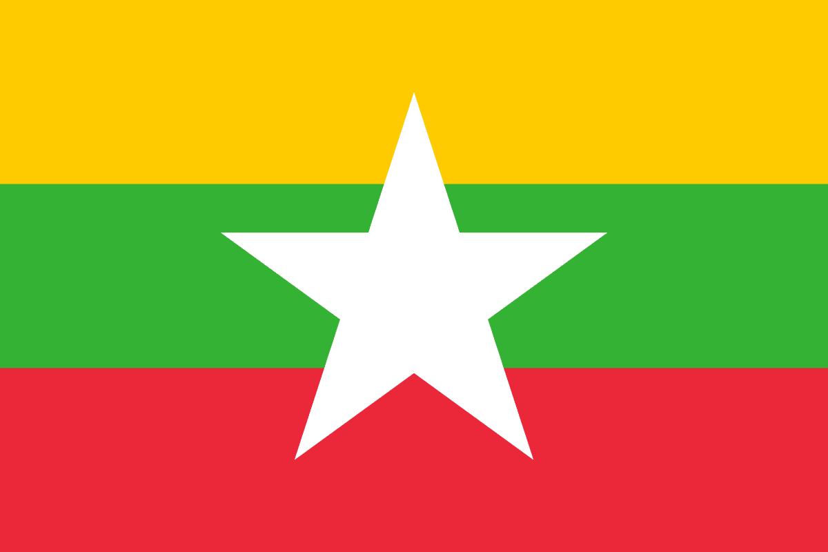 Mjanmarsko vlajka